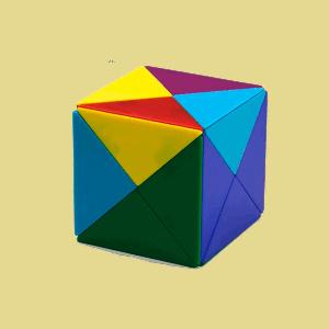 Cubo mágico tangram